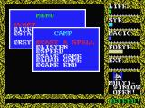 Hydlide II: Shine of Darkness MSX Game options during the game. It even has a save game option.