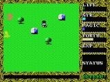 Hydlide II: Shine of Darkness MSX Evil monsters are approaching you. Watch your back!