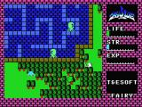Hydlide MSX Walk through forrests... but Evil may walk behind you!