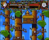 Magicland Dizzy Amiga Up a tree.