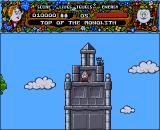 Magicland Dizzy Amiga Top of the monolith.