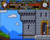 Magicland Dizzy Amiga The drawbridge.