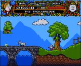 Magicland Dizzy Amiga The trollbridge.