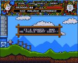 Magicland Dizzy Amiga Ice palace entrance.