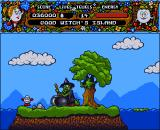 Magicland Dizzy Amiga Good witch's island.