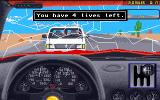 The Duel: Test Drive II Amiga Car accident.