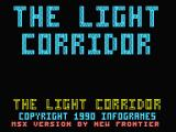 The Light Corridor MSX Title screen