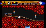 Spellbound Dizzy Amiga The mining shaft.