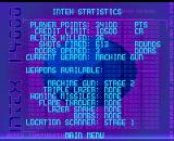 Alien Breed II: The Horror Continues Amiga Intex terminals provides also game statistics.