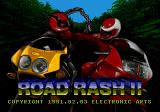 Road Rash II Genesis Title screen
