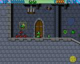 Superfrog Amiga World 2 - The castle.