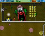 Superfrog Amiga 99 coins to collect.