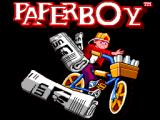 Paperboy SEGA Master System Title screen