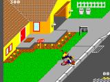 Paperboy SEGA Master System Run over by a small child