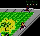 Paperboy 2 Game Gear Watch out for the jogger