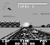 Street Racer Game Boy Race grid.