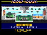 Road Rash SEGA Master System Course selection