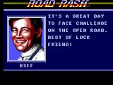 Road Rash SEGA Master System Biff gives advice