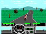 Road Rash SEGA Master System Redwood forest