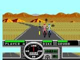Road Rash SEGA Master System Close encounter