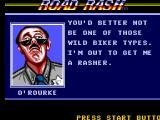 "Road Rash SEGA Master System O'Routke gives ""advice"""