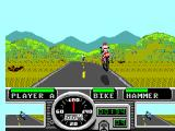 Road Rash SEGA Master System That's a high jump!