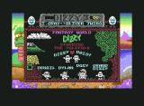 Fantasy World Dizzy Commodore 64 Title screen.