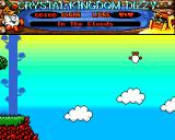 Crystal Kingdom Dizzy Amiga In the clouds.