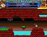 Crystal Kingdom Dizzy Amiga In the caves.