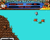Crystal Kingdom Dizzy Amiga Deep water.