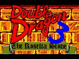 Double Dragon III: The Sacred Stones Amstrad CPC Title