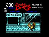 Double Dragon III: The Sacred Stones Amstrad CPC Mission 1 - U.S.A.