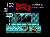 Double Dragon III: The Sacred Stones Amstrad CPC Down on the ground