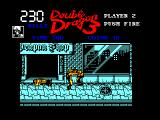 Double Dragon III: The Sacred Stones Amstrad CPC Punching one of your enemies in the gut