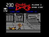 Double Dragon III: The Sacred Stones Amstrad CPC Boss down
