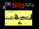 Double Dragon III: The Sacred Stones Amstrad CPC Billy falls down a hole...