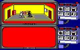Spy vs Spy Amstrad CPC Black Spy and White Spy fight