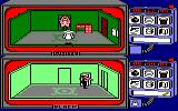 Spy vs Spy Amstrad CPC The guard stops White from escaping the house, because he didn't get all the required items, plus the ticket