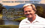 Jack Nicklaus Golf & Course Design: Signature Edition DOS Welcome to Sherwood Country Club - MCGA/VGA