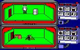 Spy vs Spy Amstrad CPC White climbs a ladder