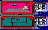 Spy vs Spy Amstrad CPC White blows himself up