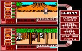 Spy vs. Spy: The Island Caper Amstrad CPC While White stands in front of the volcano, Black discovers a trap