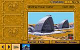 Dune II: The Building of a Dynasty Amiga You can build more structures in the construction yard.