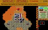 Dune II: The Building of a Dynasty Amiga The harvested Spice is changed into credits.