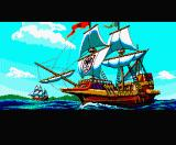 Uncharted Waters MSX Intro