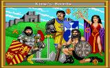 King's Bounty Amiga Choose your hero.