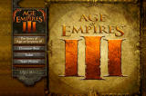 Age of Empires III (Collector's Edition) Windows The Making of Age of Empires III DVD - Title screen.