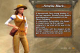 Age of Empires III (Collector's Edition) Windows Characters Bios - Amelia Black.