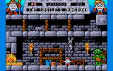 Fantasy World Dizzy Atari ST The castle dungeon.
