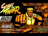 Street Fighter Amstrad CPC Title
